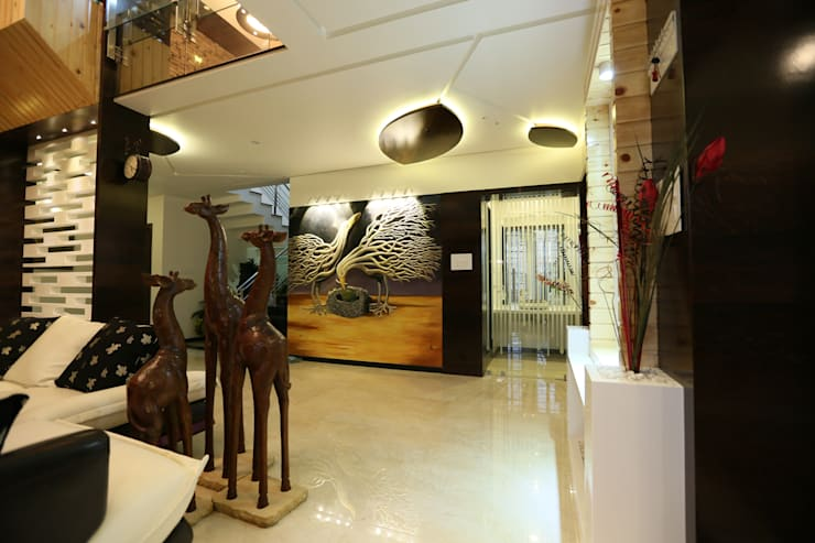 Private Residence:  Multimedia room by malvigajjar