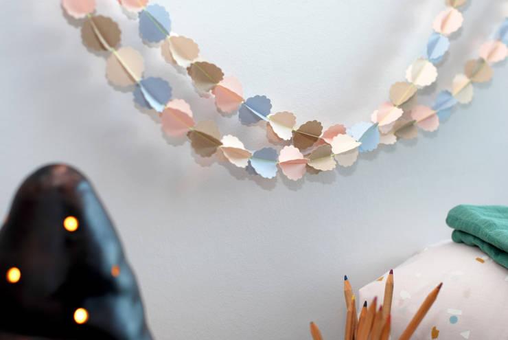 Guirlande Clouds LUNA: Art de style  par Mi-Avril