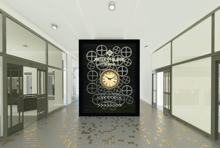 Salon sprzedaży i wystawa zegarków marki Patek Philippe: styl , w kategorii  zaprojektowany przez QCA