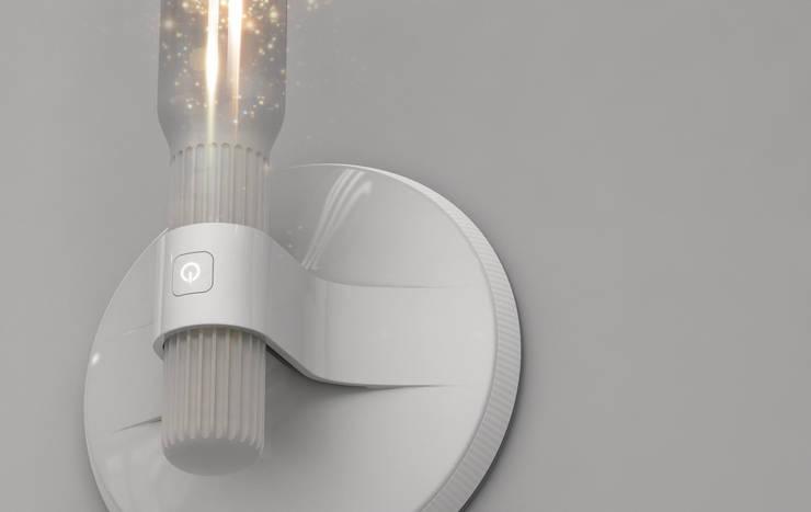 Solar Suction Lamp: Maison de style  par Serge Rusak