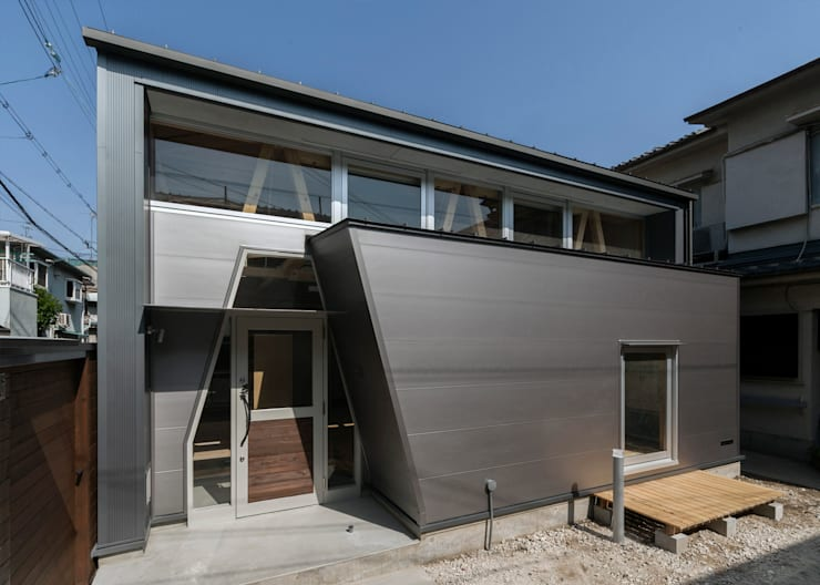 Casas de estilo  por H.Maekawa Architect & Associates, Ecléctico