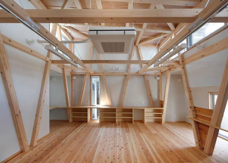 Media room by H.Maekawa Architect & Associates, Eclectic