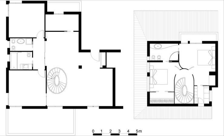 Attico A:  in stile  di Pier Maria Giordani Architetto
