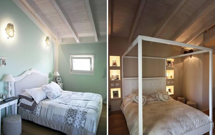 Casa Iasoni: Camera da letto in stile  di Pier Maria Giordani Architetto