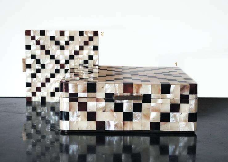 Augousti Stevenson Paris : Maison de style  par augoustistevenson