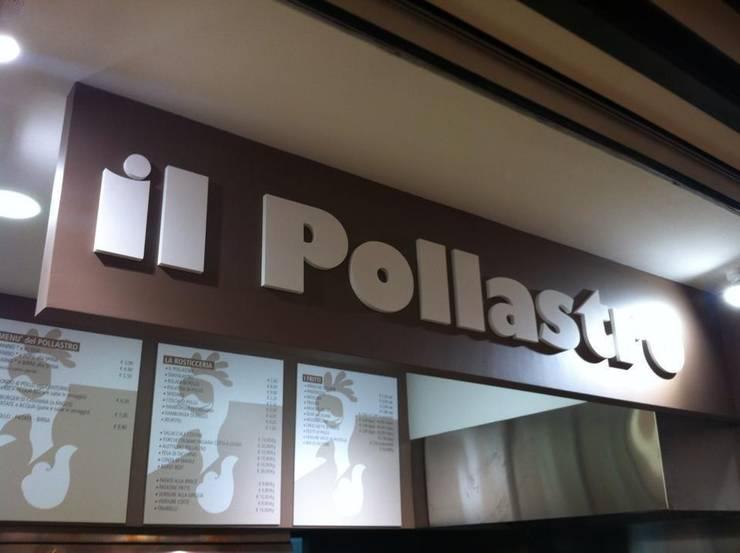 Il Pollastro: Negozi & Locali commerciali in stile  di Nonostante Progettazione, Minimalista
