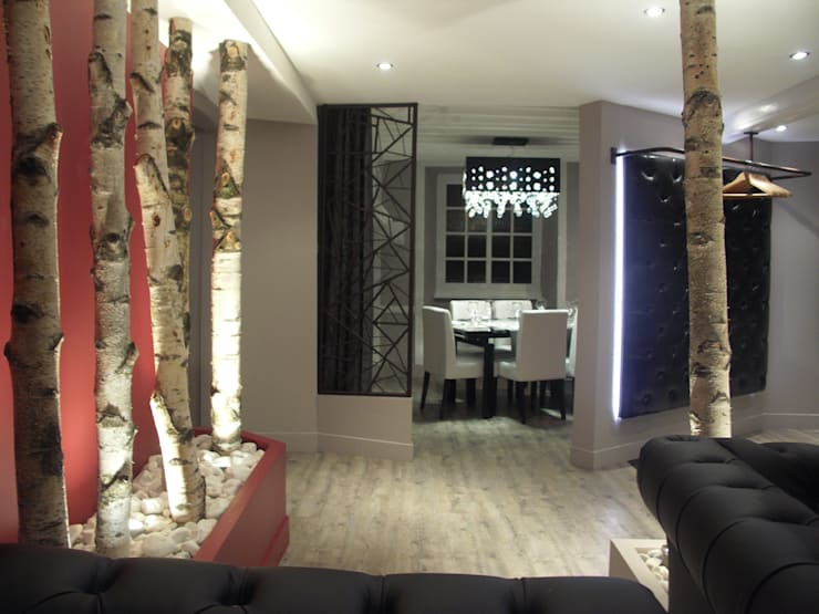 Aménagement d'un restaurant: Restaurants de style  par Florian Rochette