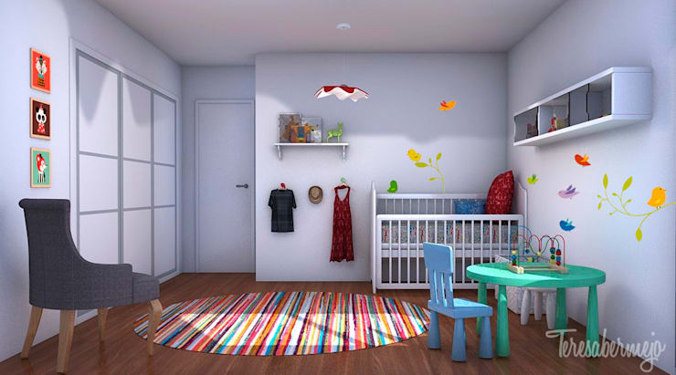 Diseñadora de Interiores, Decoradora y Home Stager:  tarz Çocuk Odası