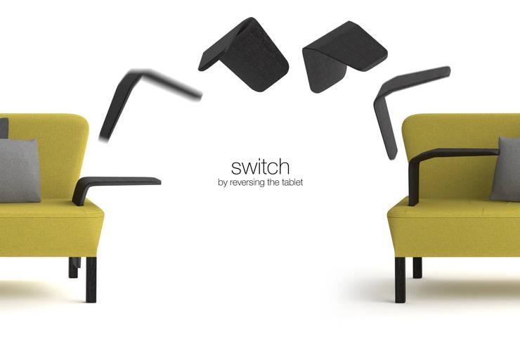 Switch: Salon de style  par Kevin Depape Designer