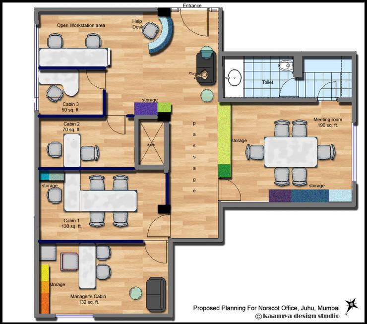 Plan:   by kaamya design studio