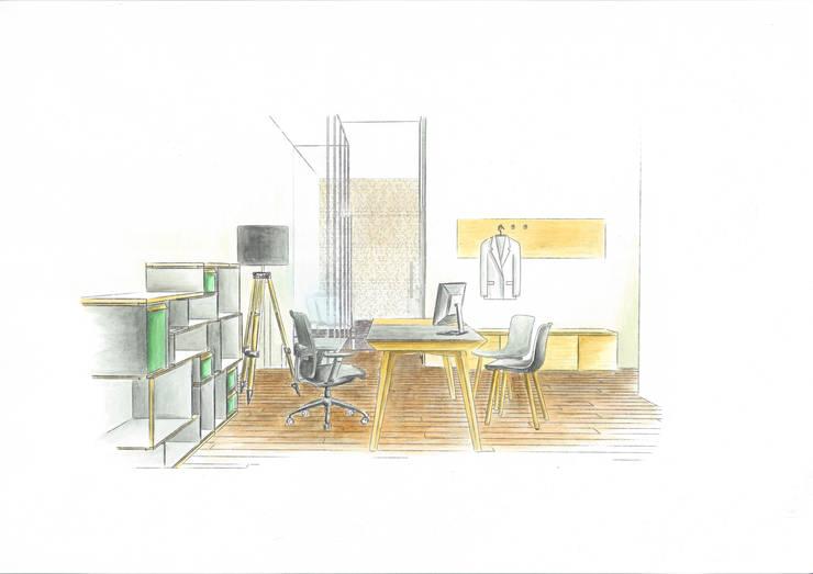 Albauwohnung Berlin: modern  von zweigespann – Atelier für Gestaltung,Modern