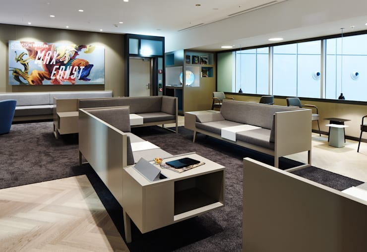 Businessclass Lounge für oneworld alliance, Flughafen Zürich:   von Raum B,