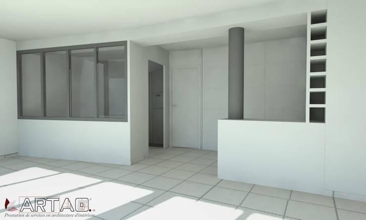 Vue 3D: Salle à manger de style  par Artao