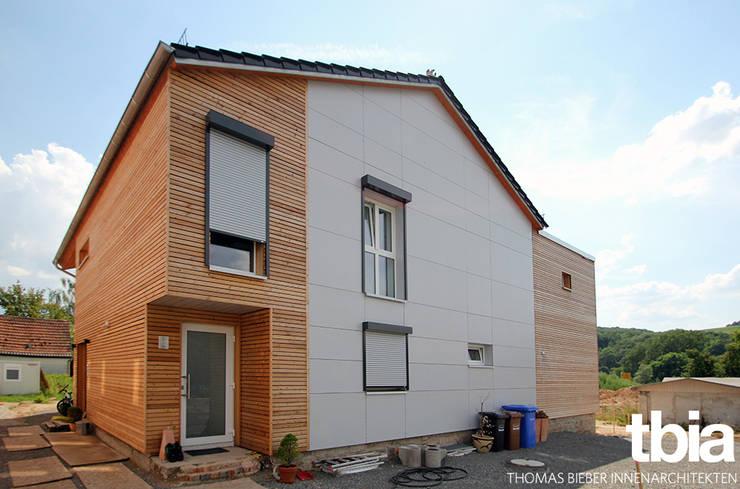Außenansicht:  Häuser von tbia - Thomas Bieber InnenArchitekten