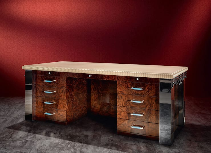 Monument Desk :   by REINER HEBE MODERN CLASSIC ARTWORK