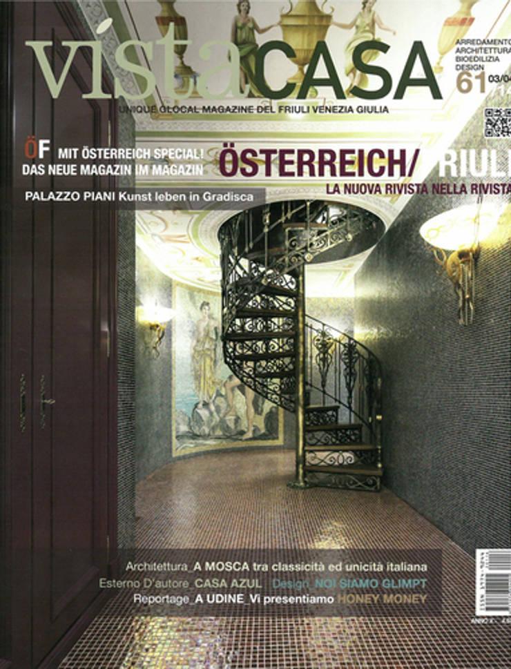 COPERTINA rivista VISTA CASA: Villa in stile  di GRAPHOS_DS