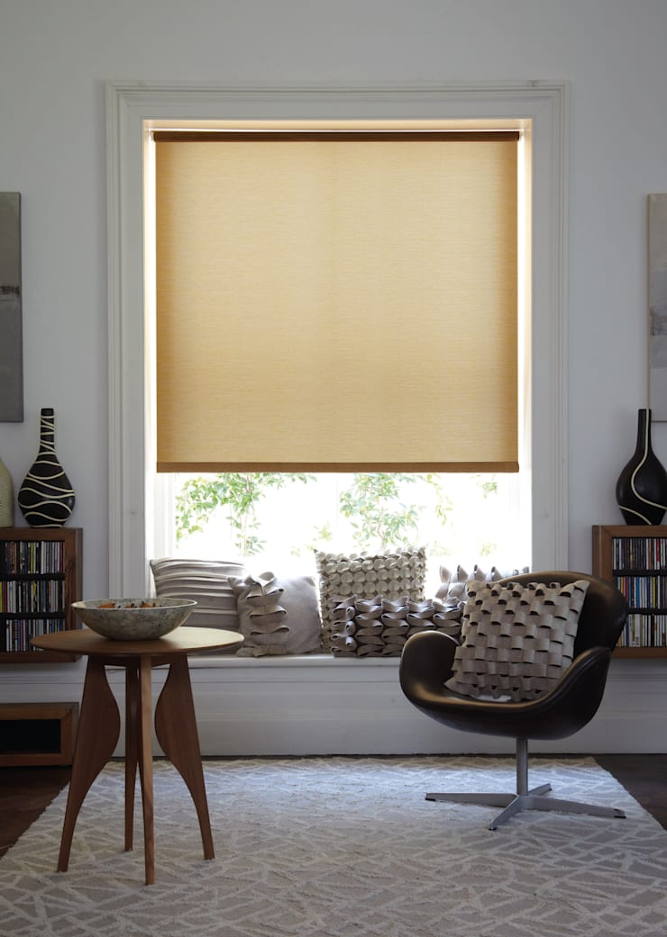 Stores enrouleurs: Fenêtres & Portes de style  par Stores Cube