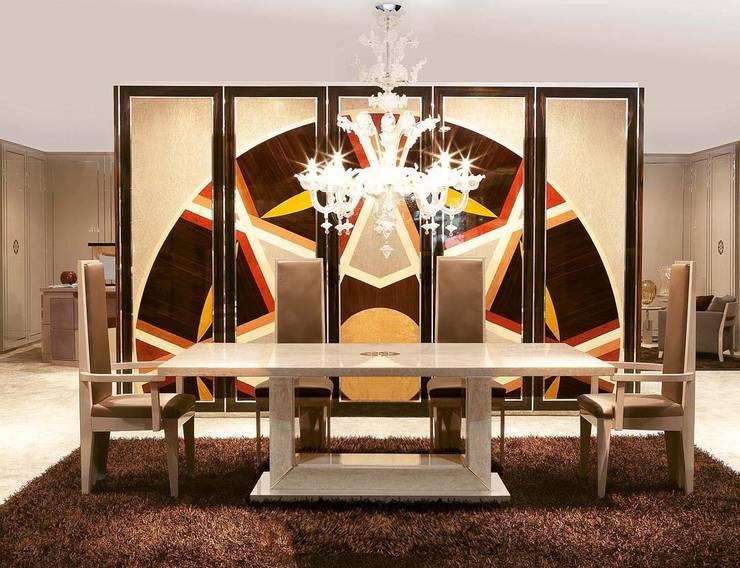 Dining Room Diamond - Mandala Mood:  in stile  di GCCOLOMBO,