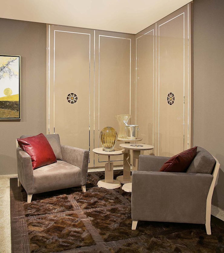 Lounge Corner Diamond - Mandala Mood:  in stile  di GCCOLOMBO,