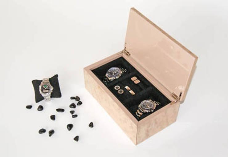 Time 02 - Scatola per Orologi e Gemelli:  in stile  di GCCOLOMBO