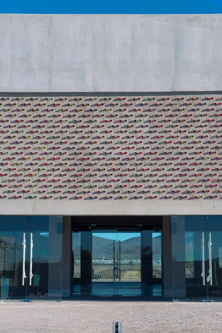 Viñedo De Coté: Bodegas de estilo  por Serrano Monjaraz Arquitectos