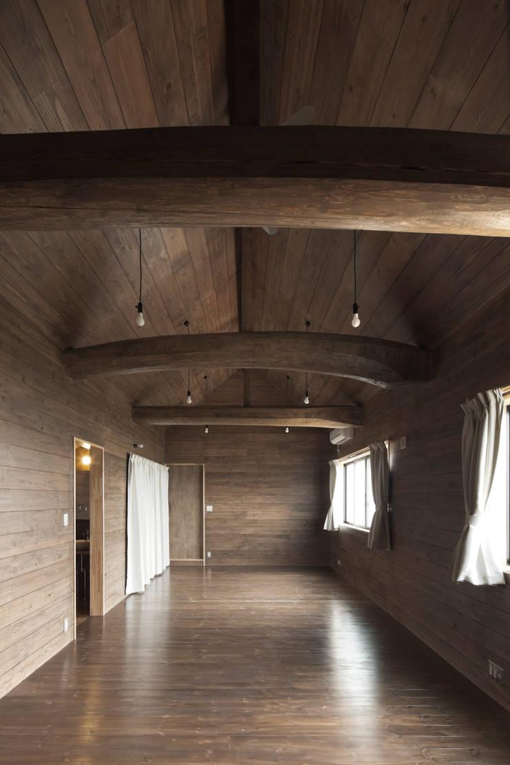 D-house 子供室: Ground Design Co,. Ltd.が手掛けた書斎です。