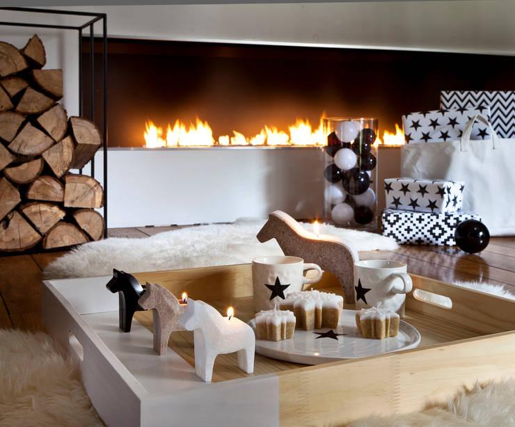 Wohnzimmer von Bougies la Française