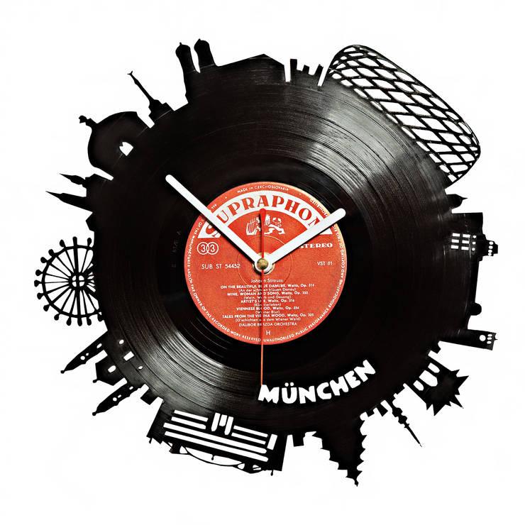 Schallplatten uhr Skyline München:  Geschäftsräume & Stores von citybomb.de
