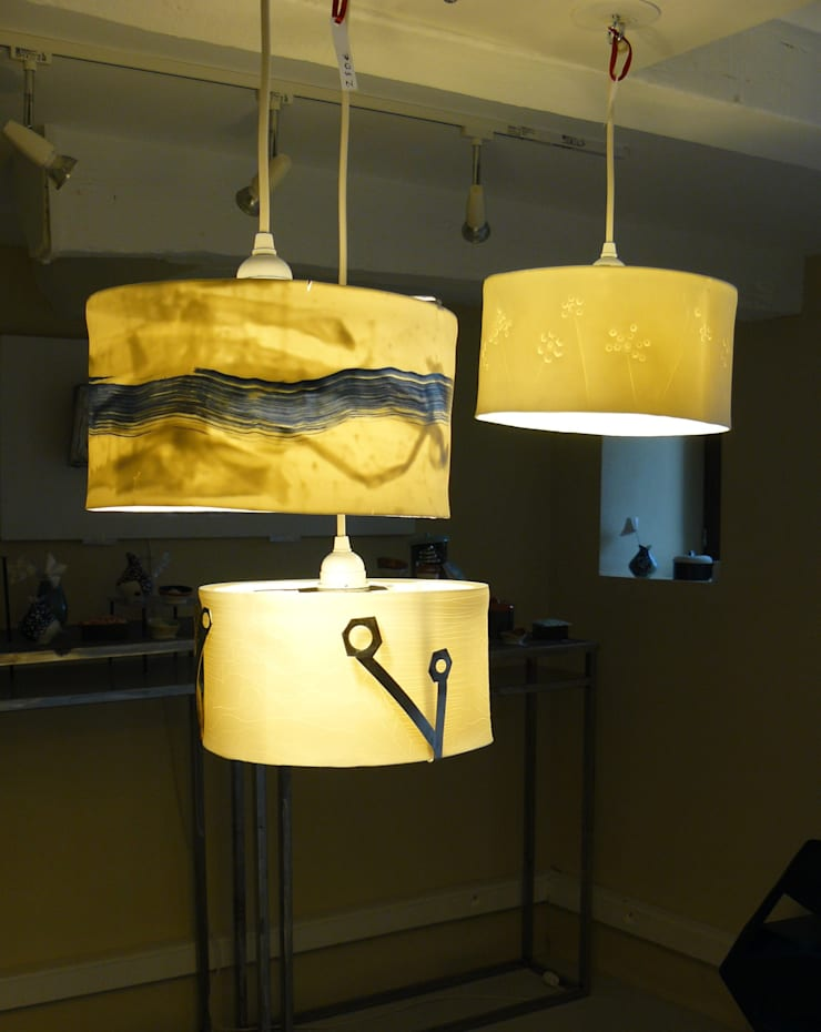 trio lumineu: Salon de style  par Emmane
