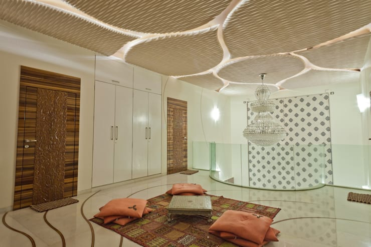 FIRST FLOOR LOBBY:  Household by NEX LVL DESIGNS PVT. LTD.