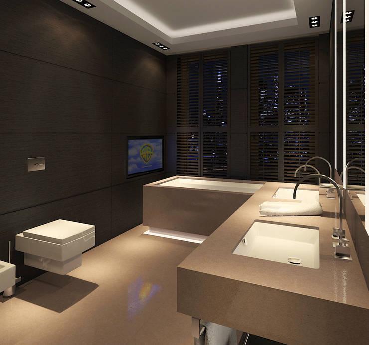 dziurdziaprojekt: modern tarz Banyo