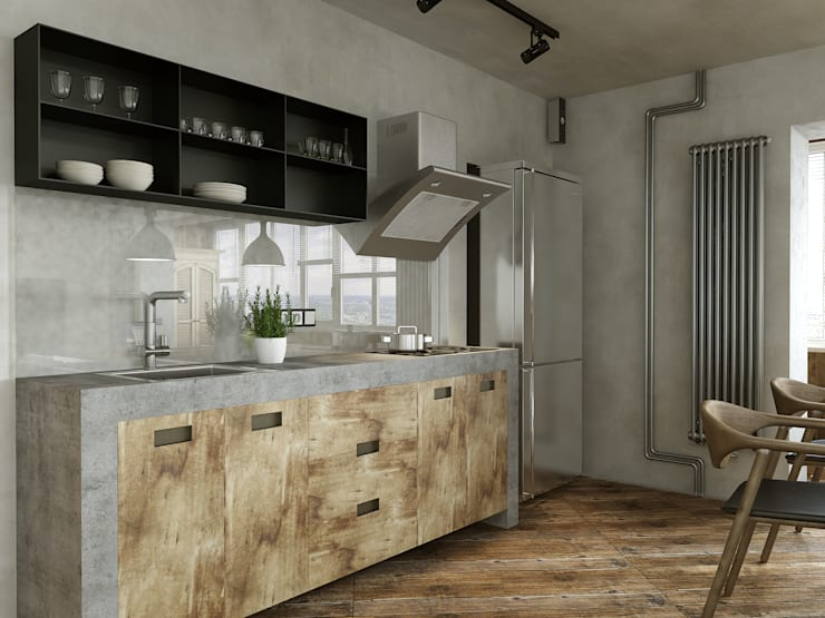 Keuken door homify