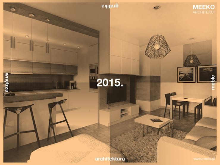 MEEKO Architekci: styl , w kategorii  zaprojektowany przez MEEKO Architekci