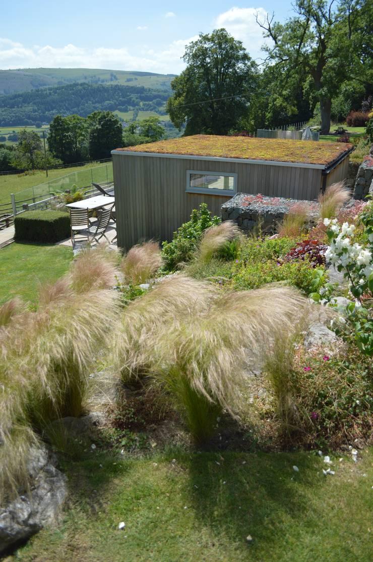 Garden Room with Sedum Room:  Garden by Unique Landscapes