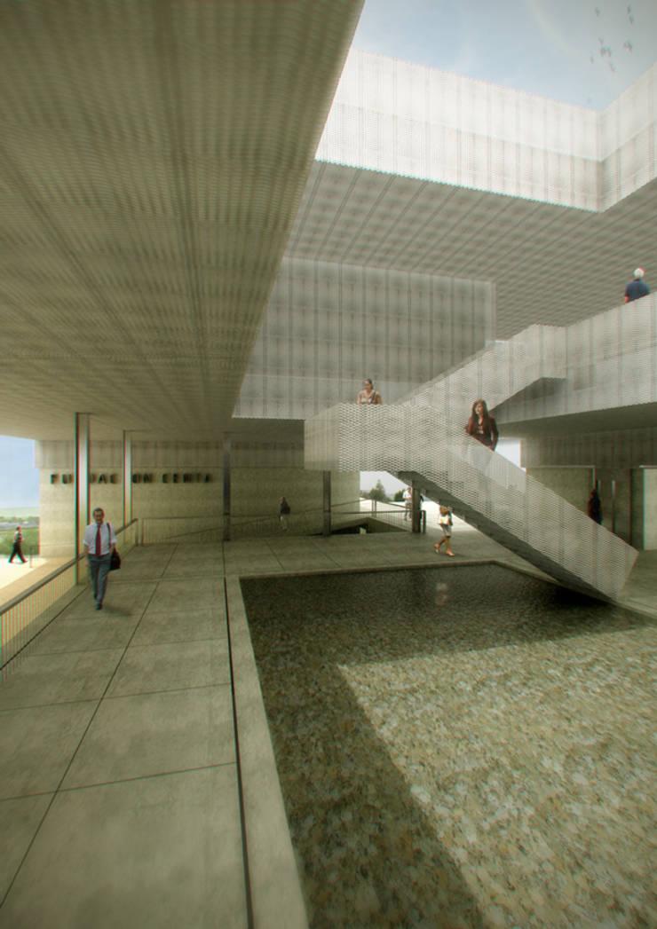 Vestibulo Abierto :  de estilo  de Estudioversatil de ARQUITECTURA y diseño