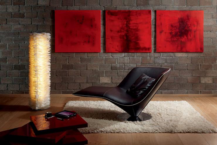 Salas de estilo ecléctico por Zimmermanns Kreatives Wohnen