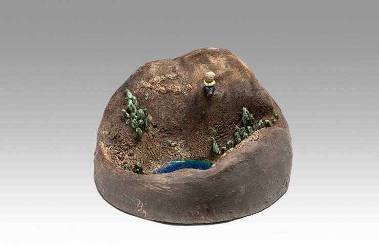 montagne: Art de style  par delphine barbry céramique
