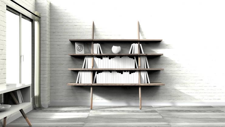 Wood & Copper: Maison de style  par Cyrille Durand Design