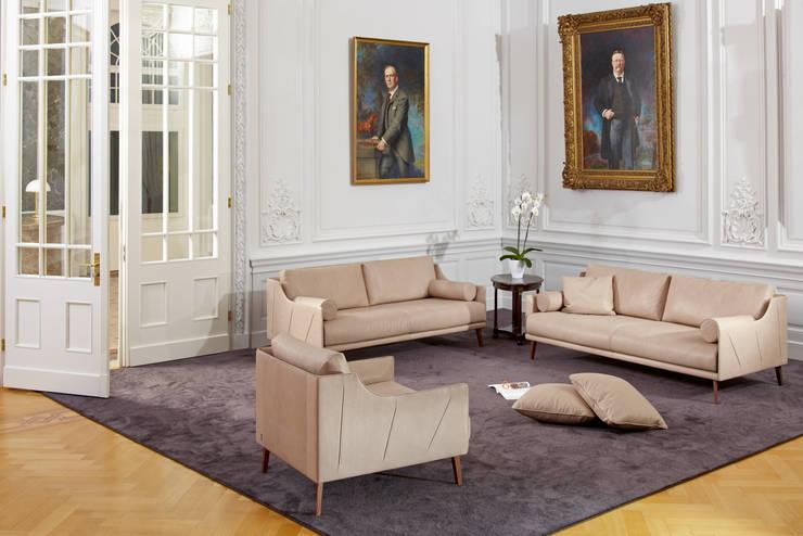Salones de estilo  de Zimmermanns Kreatives Wohnen