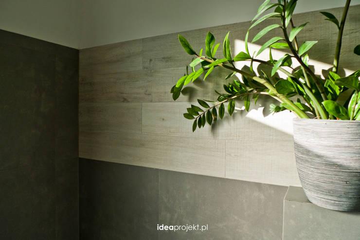 Betonowo: styl , w kategorii Łazienka zaprojektowany przez idea projekt,Skandynawski