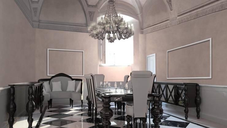 PROGETTI APPARTAMENTO PRIVATO 2014:  in stile  di ARCHITETTURE & DESIGN