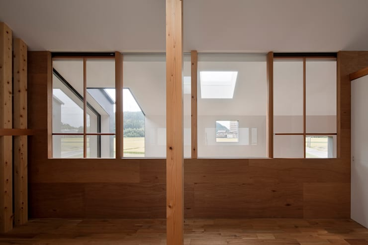 外の部屋のある処: g_FACTORY 建築設計事務所が手掛けたです。,