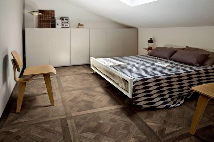 Plaza Yapı Malzemeleri – Marküteri (Rustik):  tarz Yatak Odası