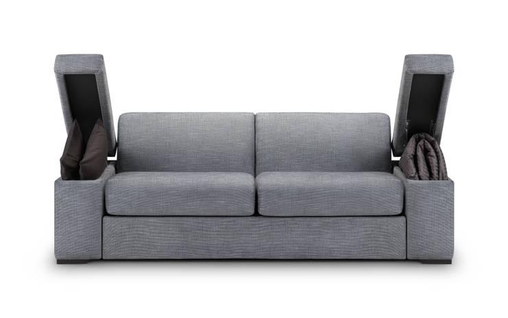 THE STORAGE BED: modern tarz Yatak Odası