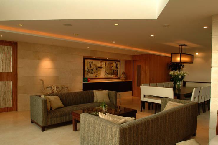 Ruang Keluarga oleh ARCO Arquitectura Contemporánea ,