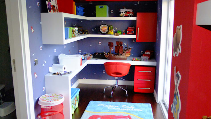 Recámaras infantiles de estilo  por EDMİMARLIK INTERIOR STUDIO