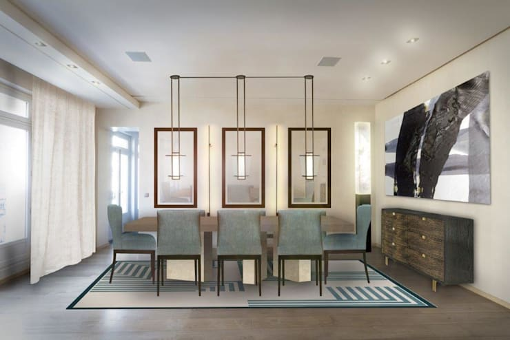 Stephanie Coutas's projects:  Dining room by Stephanie Coutas