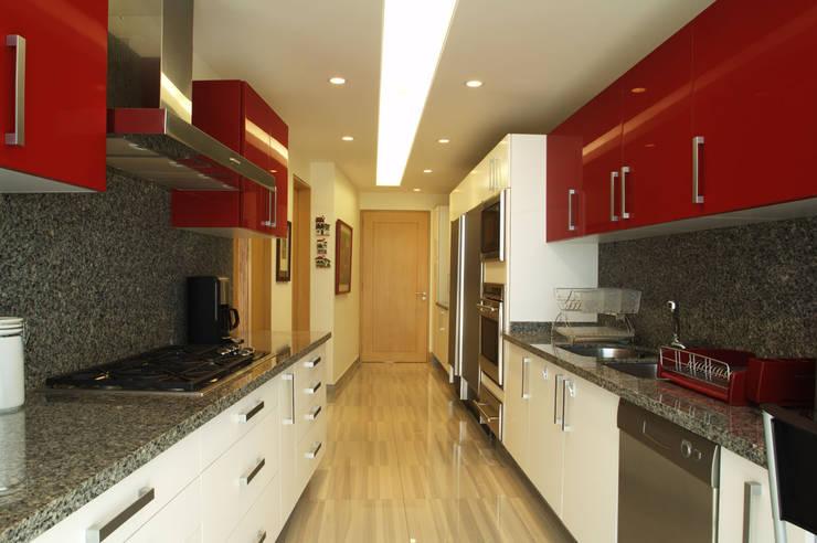 Departamento Vertientes Cuisine par ARCO Arquitectura Contemporánea