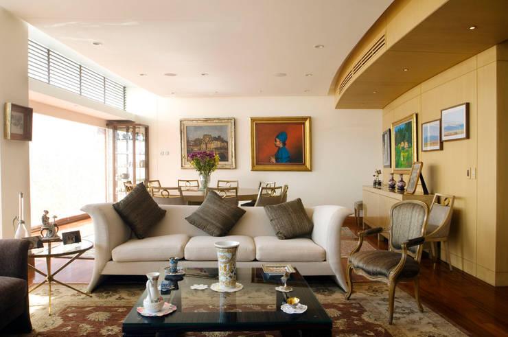 Departamento Vertientes Salon par ARCO Arquitectura Contemporánea