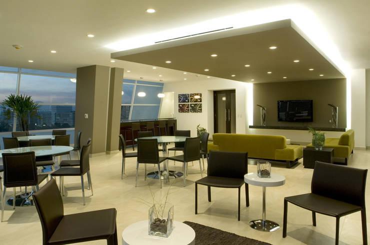 Living room by ARCO Arquitectura Contemporánea ,